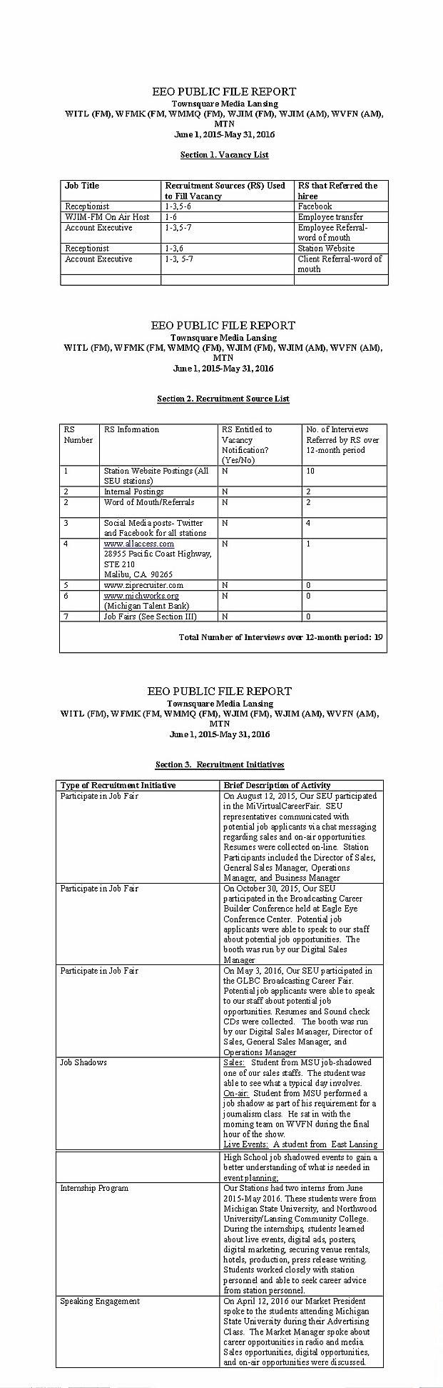 eeo report 2016