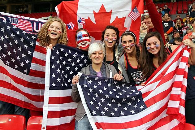 Olympics Day 10 - Women's Football S/F - Match 24 - Canada v USA