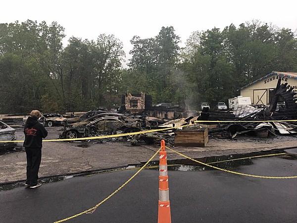 Major Fire at Sundance Chevrolet in Grand Ledge Destroys ...